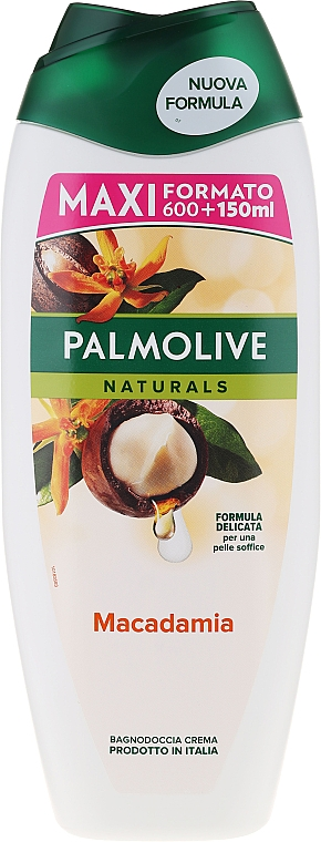 "Shower Gel ""Macadamia"" - Palmolive Naturals Macadamia Shower Gel"