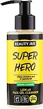 """Fragrances, Perfumes, Cosmetics Cleansing Gel """"Super Hero"""" - Beauty Jar Low Ph Face Gel Cleanser"""