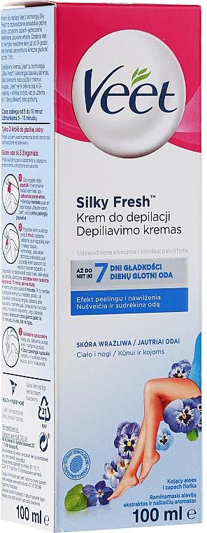Depilatory Cream for Sensitive Skin - Veet