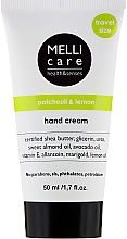 Fragrances, Perfumes, Cosmetics Hand Cream - Melli Care Patchouli&Lemon Hand Cream