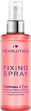 Fragrances, Perfumes, Cosmetics Makeup Fixing Spray - I Heart Revolution Fixing Spray Strawberries & Cream