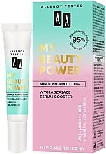 Fragrances, Perfumes, Cosmetics Smoothing Face Serum-Booster - AA My Beauty Power Niacinamide 10% Smoothing Serum-Booster