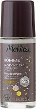 Fragrances, Perfumes, Cosmetics Deodorant - Melvita Homme 24H Deodorant