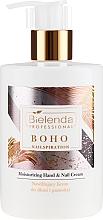 Fragrances, Perfumes, Cosmetics Moisturizing Hand and Nail Cream - Bielenda Professional Nailspiration Boho Moisturising Hand & Nail Cream