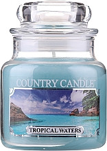"""Fragrances, Perfumes, Cosmetics Scented Candle """"Tropical Waters"""" (jar) - Country Candle Tropical Waters"""