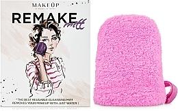 "Fragrances, Perfumes, Cosmetics Makeup Remover Glove, pink ""ReMake"" - MakeUp"