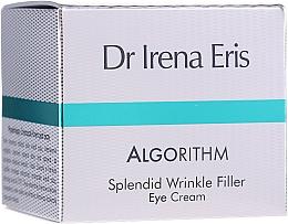 Fragrances, Perfumes, Cosmetics Eye Cream - Dr Irena Eris Algorithm Splendid Wrinkle Filler Eye Cream