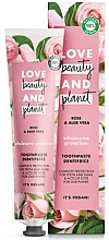 Fragrances, Perfumes, Cosmetics Rose & Aloe Toothpaste - Love Beauty And Planet Rose&Aloe Vera
