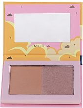 Fragrances, Perfumes, Cosmetics Face Bronzer - Moira Golden Rays Bronzed Goddess Duo