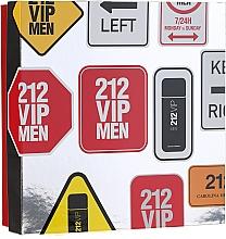 Fragrances, Perfumes, Cosmetics Carolina Herrera 212 VIP Men - Set (edt/100 ml + sh/gel/100 ml)