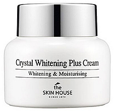 Fragrances, Perfumes, Cosmetics Whitening Anti Age Spot Face Cream - The Skin House Crystal Whitening Plus Cream