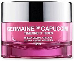 Fragrances, Perfumes, Cosmetics Anti-Wrinkle Cream - Germaine de Capuccini TimExpert Rides Soft Global Cream Wrinkles