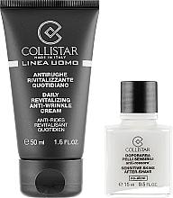 Fragrances, Perfumes, Cosmetics Set - Collistar Linea Uomo (f/cr/50ml + ash/balm/15ml)