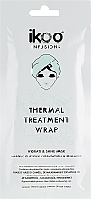 "Fragrances, Perfumes, Cosmetics Thermal Wrap Mask Hydrate & Shine"" - Ikoo Infusions Thermal Treatment Wrap"