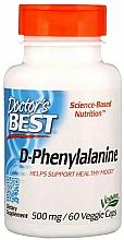 Fragrances, Perfumes, Cosmetics D-Phenylalanine, 500 mg - Doctor's Best D-Phenylalanine