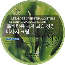 Fragrances, Perfumes, Cosmetics Massage Face Cream - Lebelage Green Tea Moisture Cleaning Massage Cream