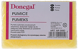 Fragrances, Perfumes, Cosmetics Heel Pumice, 9990, yellow - Donegal