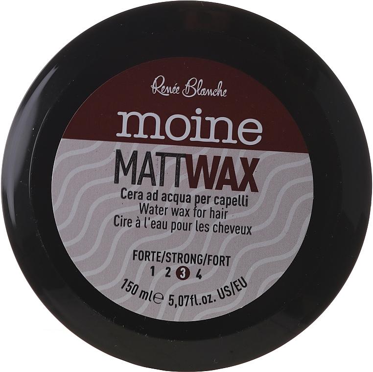 Mattifying Hair Wax - Renee Blanche Moine Matt Wax