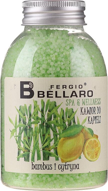 "Bath Caviar ""Bamboo & Lemon"" - Fergio Bellaro Bamboo and Lemon Bath Caviar"