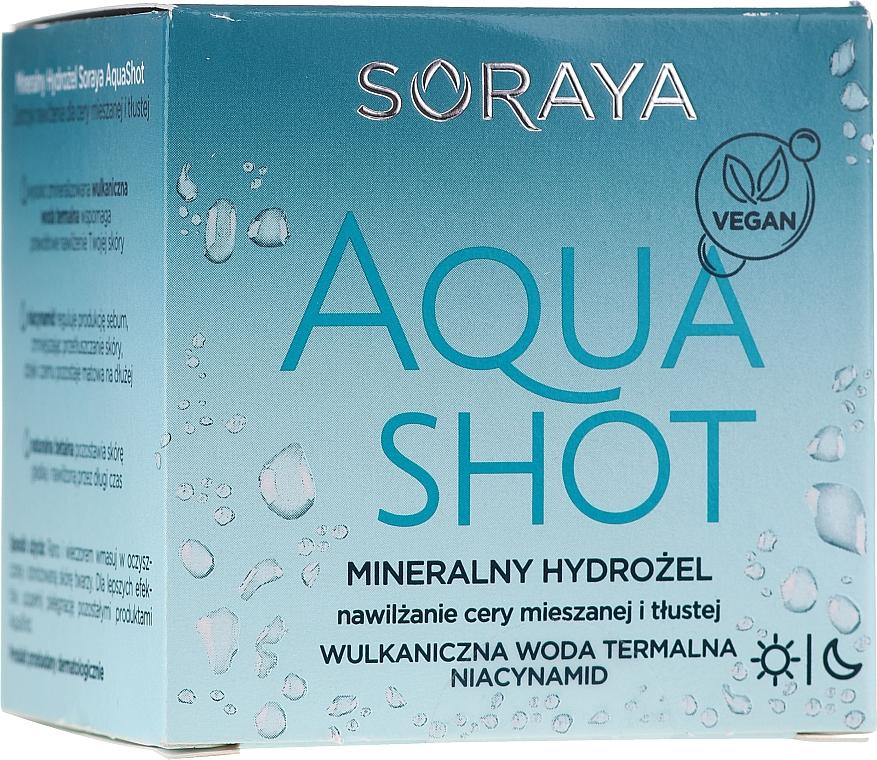 Mineral Facial Hydrogel - Soraya Aquashot