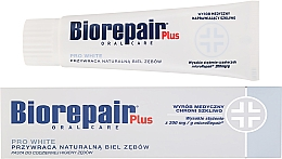 Fragrances, Perfumes, Cosmetics Whitening Toothpaste - BioRepair Plus PRO White