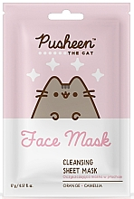 Fragrances, Perfumes, Cosmetics Cleansing Face Mask - Pusheen Cleansing Sheet Mask