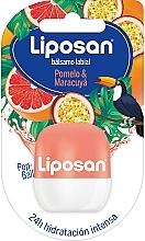 Fragrances, Perfumes, Cosmetics Grapefruit & Passion Fruit Lip Balm - Liposan Pop Ball