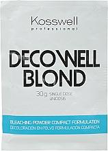 Fragrances, Perfumes, Cosmetics Whitening Powder, Sky Blue - Kosswell Professional Decowell Blond