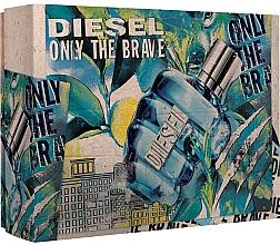 Fragrances, Perfumes, Cosmetics Diesel Only The Brave - Set (edt/50ml + sh/g/100ml)