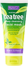 "Fragrances, Perfumes, Cosmetics Deep Cleansing Facial Mask ""Tea Tree"" - Beauty Formulas Tea Tree Deep Cleansing Facial Mask"