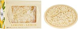 """Fragrances, Perfumes, Cosmetics Natural Soap """"Lemon"""" - Saponificio Artigianale Fiorentino Botticelli Lemon Soap"""