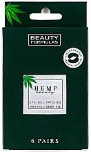 Fragrances, Perfumes, Cosmetics Eye Gel Patches - Beauty Formulas Hemp Beauty Eye Gel Patches