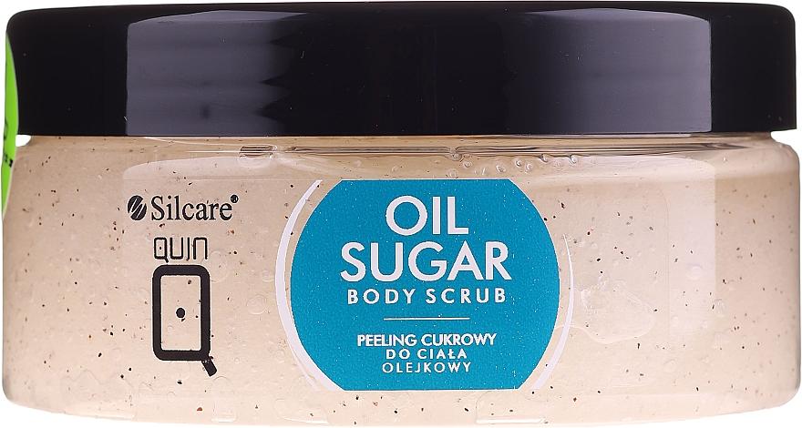 Body Oil Sugar Peeling - Silcare Quin Sugar Body Peel Oil