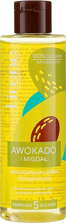 "Nourishing Body Oil ""Avocado and Almond"" - Lirene Dermo Program Body Butter"