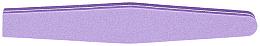Fragrances, Perfumes, Cosmetics Double-Sided Nail Buffer, straight 100/180, purple - Tools For Beauty Diamond Purple