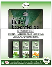 """Fragrances, Perfumes, Cosmetics Essential Oil Set """"To Help You Work"""" - Galeo To Help You Work Gift Set (ess/oil/3x10ml)"""