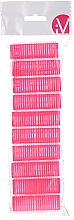 Fragrances, Perfumes, Cosmetics Velcro Curlers, 499600, Pink - Inter-Vion