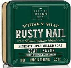 "Fragrances, Perfumes, Cosmetics Soap ""Rusty Nail"" - Scottish Fine Soaps Rusty Nail Sports Soap In A Tin"