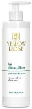 Fragrances, Perfumes, Cosmetics Makeup Remover Milk for All Skin Types - Yellow Rose Cleansing Milk