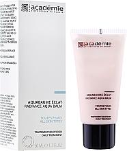 "Fragrances, Perfumes, Cosmetics Apricot Cream Balm ""Shining"" - Academie Radiance Aqua Balm"
