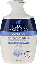 "Fragrances, Perfumes, Cosmetics Delicate Liquid Soap for Intimate Hygiene ""Classic"" - Felce Azzurra Classic Intimate Wash"