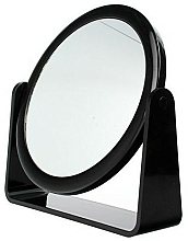 Fragrances, Perfumes, Cosmetics Double-Sided Mirror, 85055, black - Top Choice