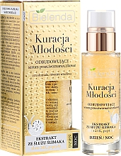Fragrances, Perfumes, Cosmetics Face Serum - Bielenda Kuracja Mlodosci Serum