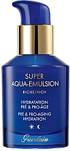 Fragrances, Perfumes, Cosmetics Rich Moisturizing Anti-Aging Emulsion for Mature Skin - Guerlain Super Aqua Rich Emulsion
