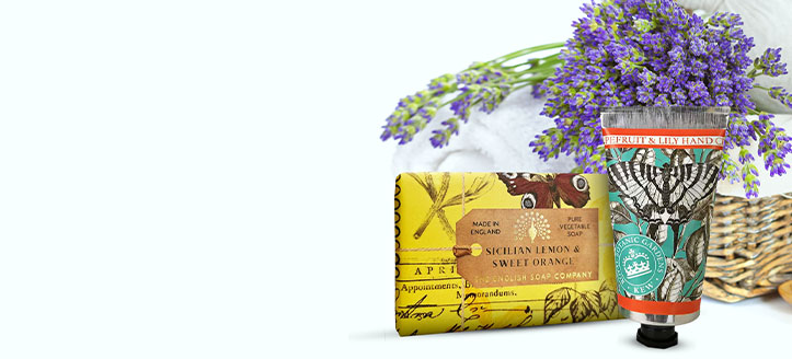 15% off the entire The English Soap Company range. Prices on the site already include a discount