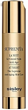 Fragrances, Perfumes, Cosmetics Complex Anti-Aging Night Cream-Serum - Sisley Supremya At Night The Supreme Anti-Aging Skin Care