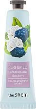 "Fragrances, Perfumes, Cosmetics Perfumed Hand Cream ""Blackberry"" - The Saem Perfumed Black Berry Hand Moisturizer"