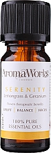 Fragrances, Perfumes, Cosmetics Essential Oil Blend - AromaWorks Serenity Essential Oil