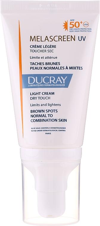 Anti Dark Spot Light Cream for Normal & Combination Skin - Ducray Melascreen UV Light Cream SPF 50+
