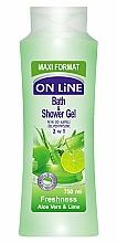 Fragrances, Perfumes, Cosmetics Shower Gel Foam - On Line Freshness Bath & Shower Gel